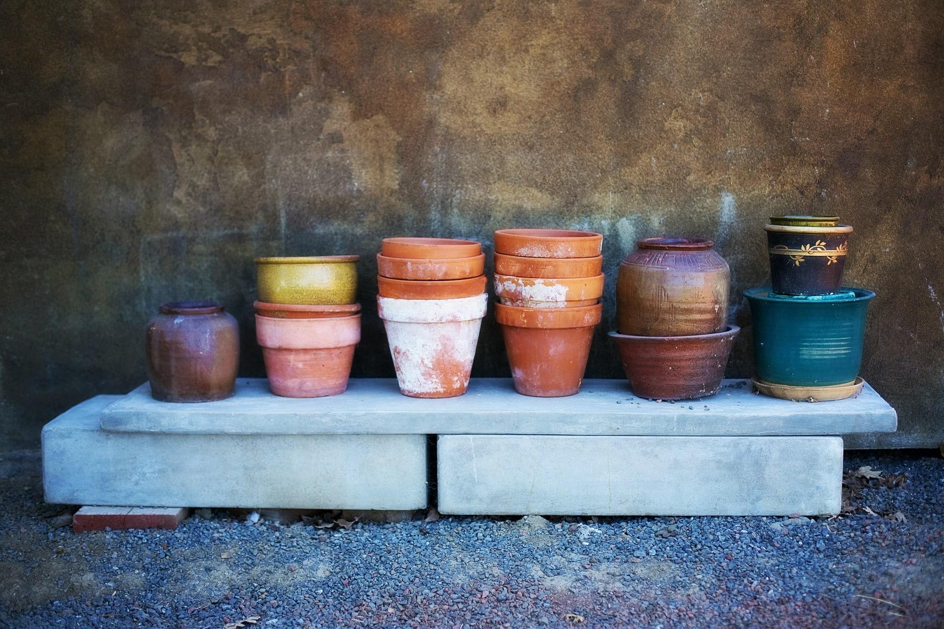 C mo limpiar macetas de barro usando vinagre succulent - Limpiar suelos de barro ...